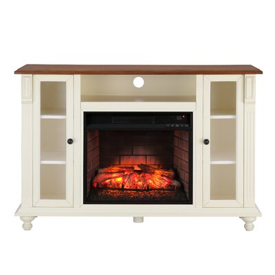 Sidney Electric 52 TV Stand with Fireplace