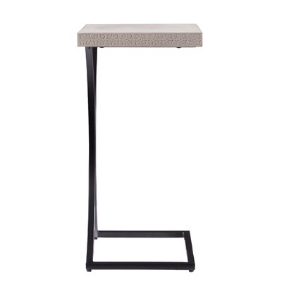 Sharen Outdoor End Table Color: Gray