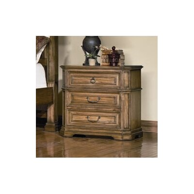 Credit for Madison 3 Drawer Nightstand...