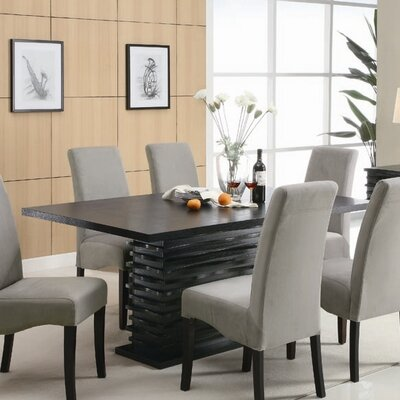 wildon home brownville dining table cst8663 dining