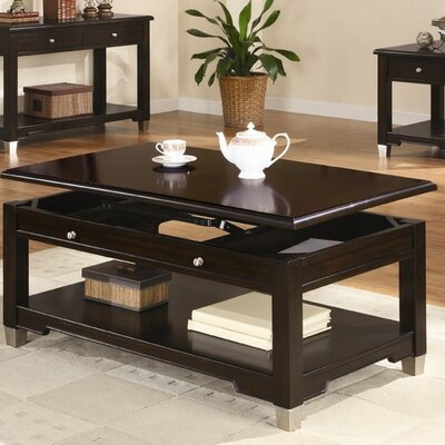Buy Low Price Wildon Home Putnam Coffee Table Set In Dark