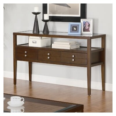 Cheap Wildon Home Northfield Sofa Table in Coffee Brown (CST8310)