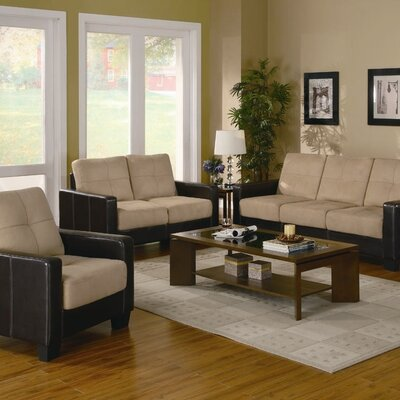 500100 CST8195 Wildon Home Waite Piece Sofa Set
