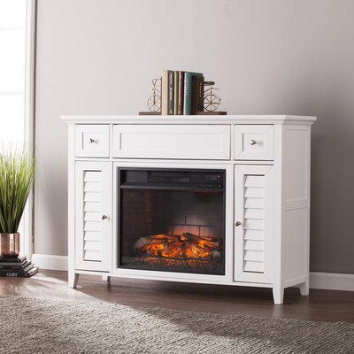 Kells 48 TV Stand Color: White
