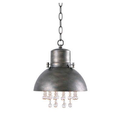 Olhouser 1-Light Inverted Pendant Finish: Oxidized Metal