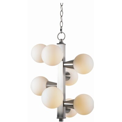 Olcott 8-Light Sputnik Chandelier