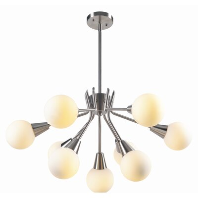 Olcott 9-Light Sputnik Chandelier