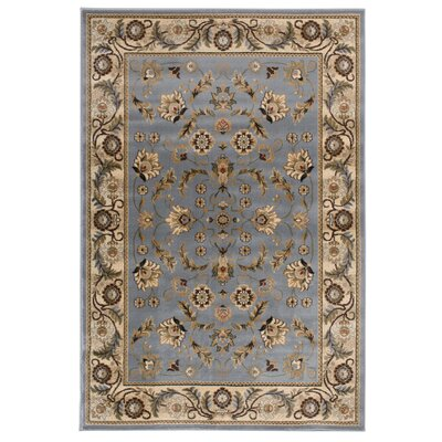 Carmalla  Blue Area Rug Rug Size: Rectangle 5 x 76