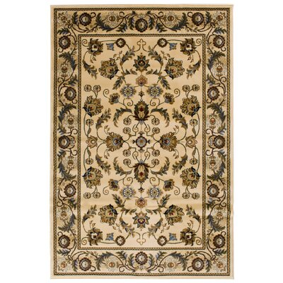 Clodia  Ivory Area Rug Rug Size: Rectangle 5 x 76