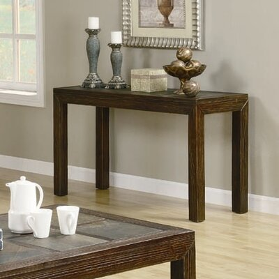 Cheap Wildon Home Kennebunk Sofa Table in Distressed Brown (CST8317)
