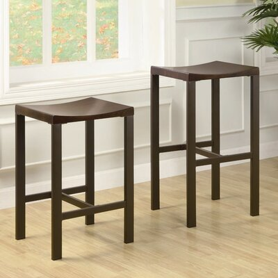 Modern Furniture Columbus Ohio on Grace 24  Square Backless Counter Stool   Wayfair