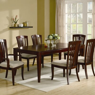 Wildon home anson dining table in intimate cherry cst8650 for Wildon home dining