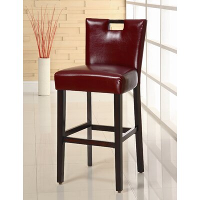 In store financing Highland Park Barstool in Red (Set ...