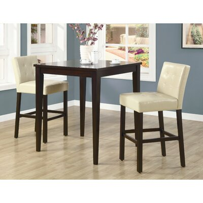 Cheap Wildon Home Highland Park 3 Piece Table Set in Cappuccino (CST9660)