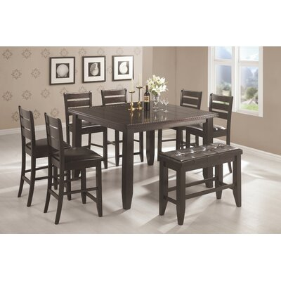 corrigan 8 piece counter height dining set modern dining room sets