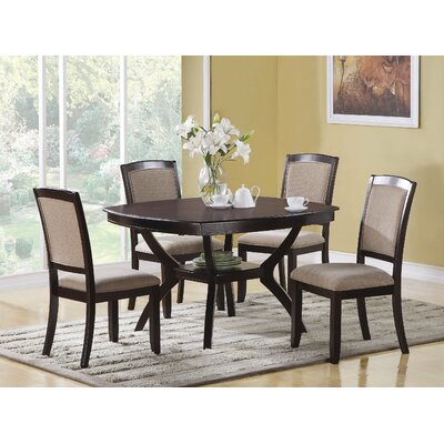 Wildon home christine 5 piece dining set cst9634 for Wildon home dining