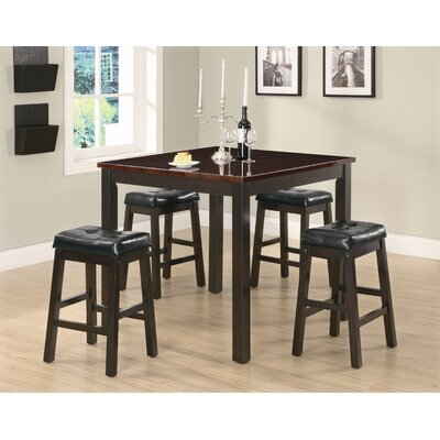 Cheap Wildon Home Lindale 5-Piece Dining Set in Cappuccino (CST9191)