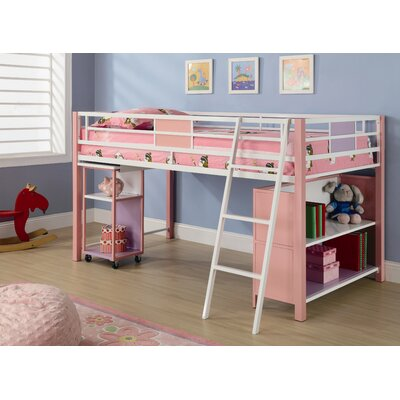 Atlantic Furniture Columbia Staircase Bunk Bed with Storage | Wayfair