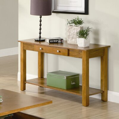 Cheap Wildon Home Rancho Viejo Sofa Table in Oak (CST9362)