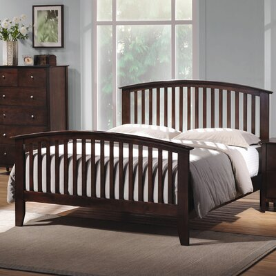 Crimmins Panel Bed Size: King