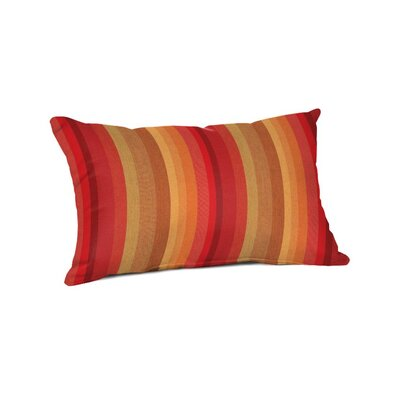 Outdoor Sunbrella Lumbar Pillow Color: Astoria Sunset