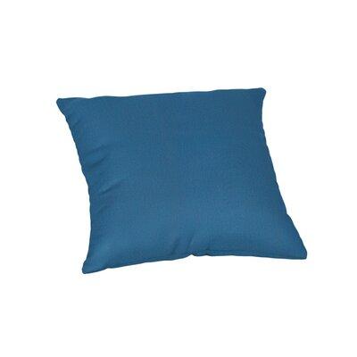 Outdoor Sunbrella Throw Pillow Color: Canvas Regatta