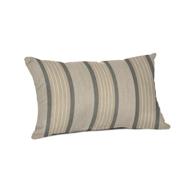 Outdoor Sunbrella Lumbar Pillow Color: Cove Pebble