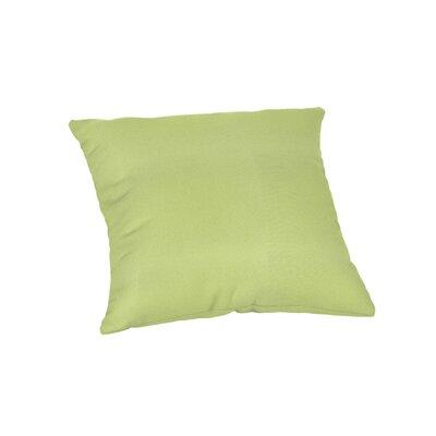 Outdoor Sunbrella Throw Pillow Color: Canvas Parrot