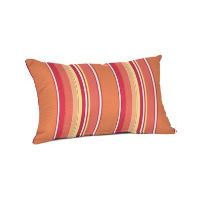 Outdoor Sunbrella Lumbar Pillow Color: Dolce Mango