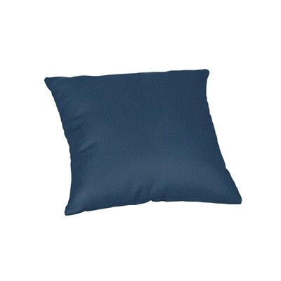 Outdoor Sunbrella Throw Pillow Color: Spectrum Indigo