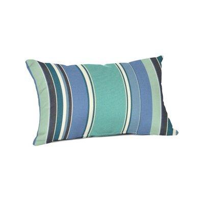 Outdoor Sunbrella Lumbar Pillow Color: Dolce Oasis