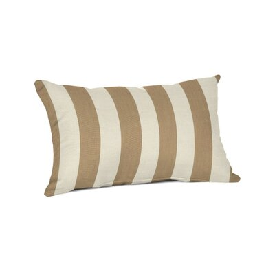 Outdoor Sunbrella Lumbar Pillow Color: Maxim Heather Beige