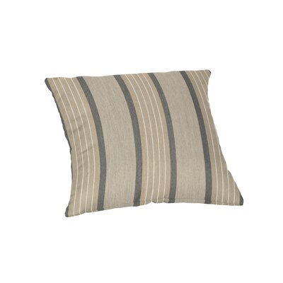 Outdoor Sunbrella Throw Pillow Color: Cove Pebble