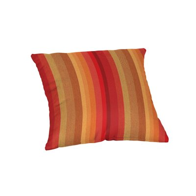 Outdoor Sunbrella Throw Pillow Color: Astoria Sunset