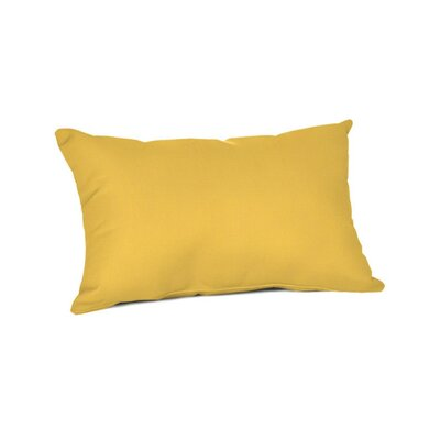 Outdoor Sunbrella Lumbar Pillow Color: Spectrum Daffodil