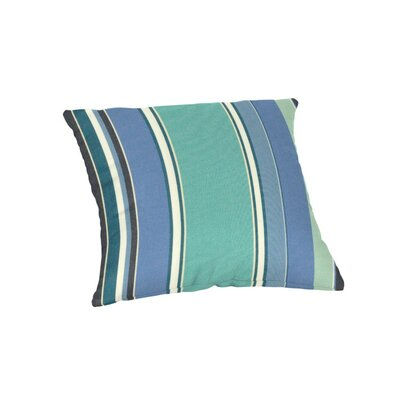 Outdoor Sunbrella Throw Pillow Color: Dolce Oasis