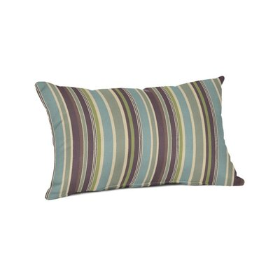Outdoor Sunbrella Lumbar Pillow Color: Brannon Whisper
