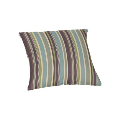 Outdoor Sunbrella Throw Pillow Color: Brannon Whisper