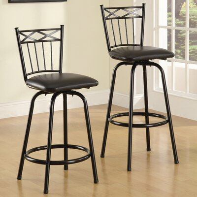 Easy financing Lavon Faux Leather Barstool (Set of...