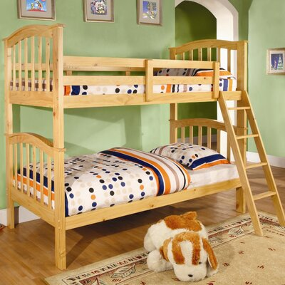 Protect Twin on Wildon Home Mullin Twin Over Twin Bunk Bed