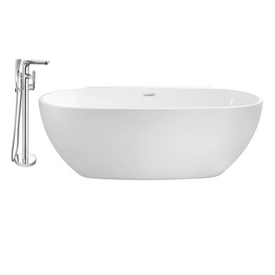 "59"" x 30"" Freestanding Soaking Bathtub AB9EE808092F4730B2BCD94BB797C92C"