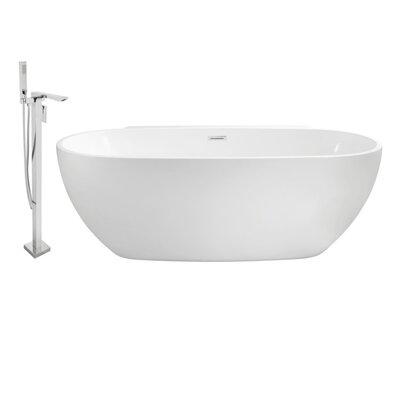"""59"""" x 30"""" Freestanding Soaking Bathtub A367CF8A67EC4598A955F88B0B014195"""