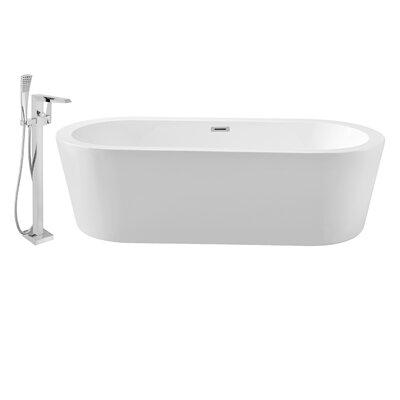 "67"" x 32"" Freestanding Soaking Bathtub NH361-100"