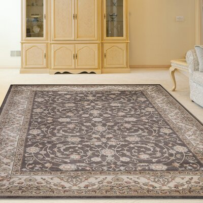 Garda Brown Area Rug Rug Size: Rectangle 33 x 411