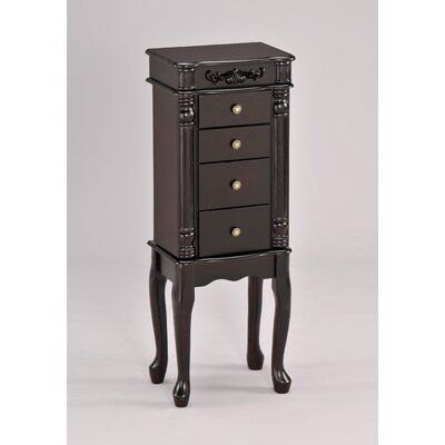Wildon Home Tiana Jewelry Armoire in Espresso at Sears.com