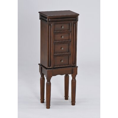 Wildon Home Tiren Jewelry Armoire in Black at Sears.com