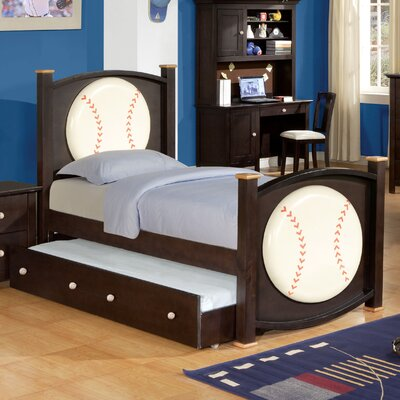 In store financing Allstar Baseball Bed with Trundle...