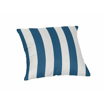 Outdoor Sunbrella Throw Pillow Color: Maxim Regatta