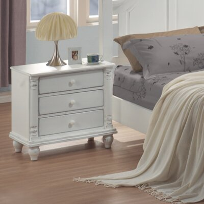 Lease to own Kayla 3 Drawer Nightstand...