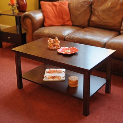 Bay Shore Coffee Table Color: Espresso
